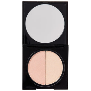 Pressed Duo Shimmer Powder - Sweetly Kissed