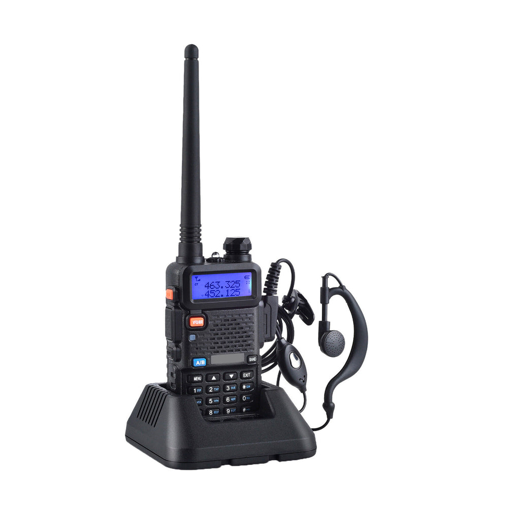 Radio Walkie Talkie Digital Baofeng UV-5R Triband VHF/UHF/FM