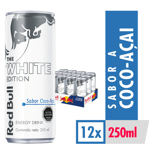 Bebida Energetica Red Bull Summer Edition 12 Latas De 250ml