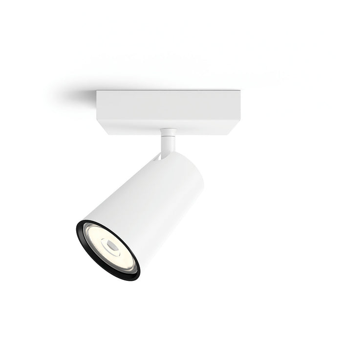 Aplique de Techo Philips Paisley Spot 1x5.5W GU10 Blanco
