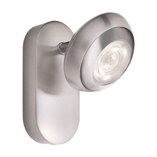 Aplique de Pared Lampara Philips Sepia LED 1x4.5 Watts Gris