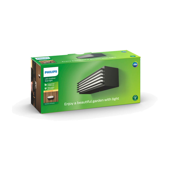 Aplique de Pared Exterior Philips Pitchfork LED 4.5W