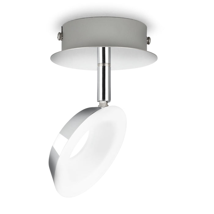 Aplique de Techo Philips Mackinaw LED 1x5W Cromado