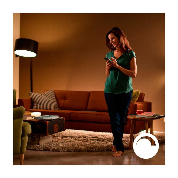 Ampolleta LED Philips hue 9.5W Blanco Calido Domotica