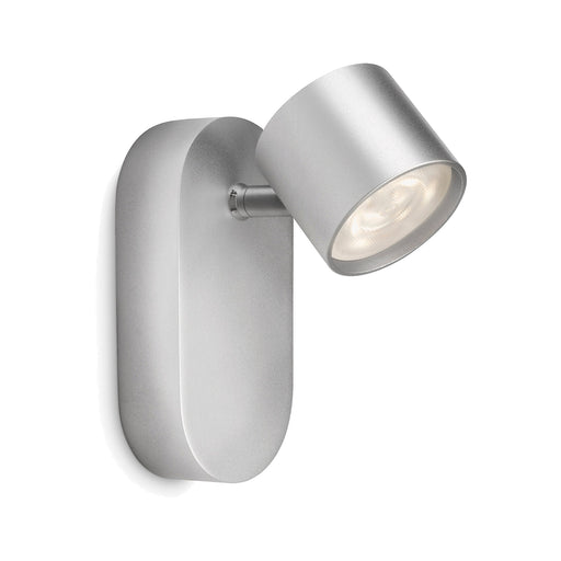 Aplique de Pared Lampara Philips Star LED 1x4 Watts Gris