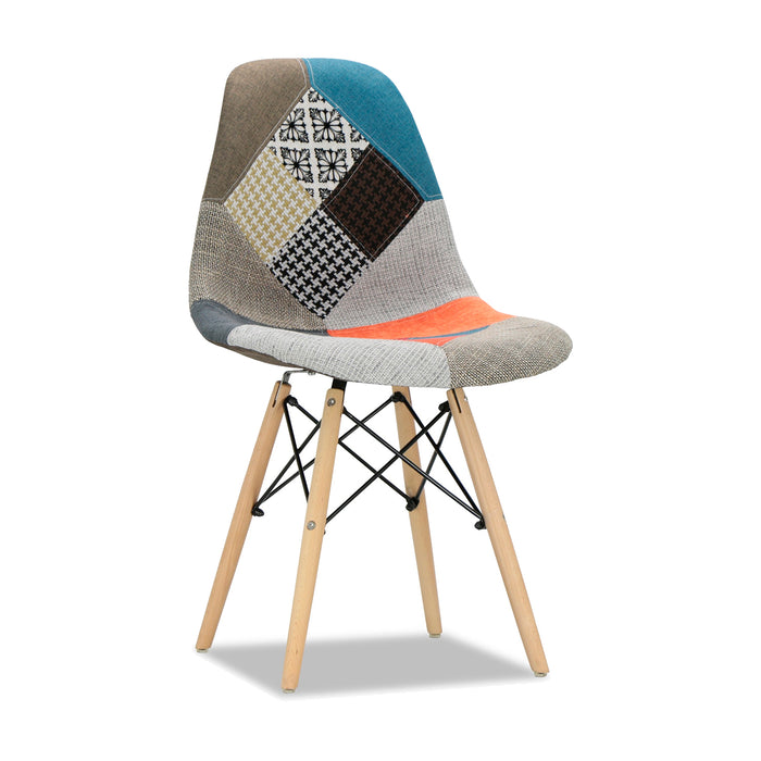 Silla Eames Dsw Patchwork 2 Diseños
