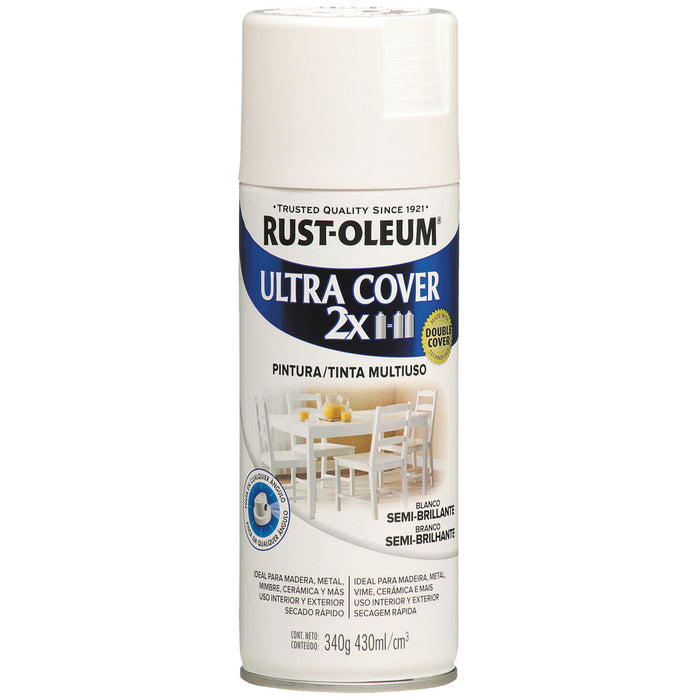 Pintura Aerosol Rust-Oleum Ultra Cover 2X Color Semi Brillo