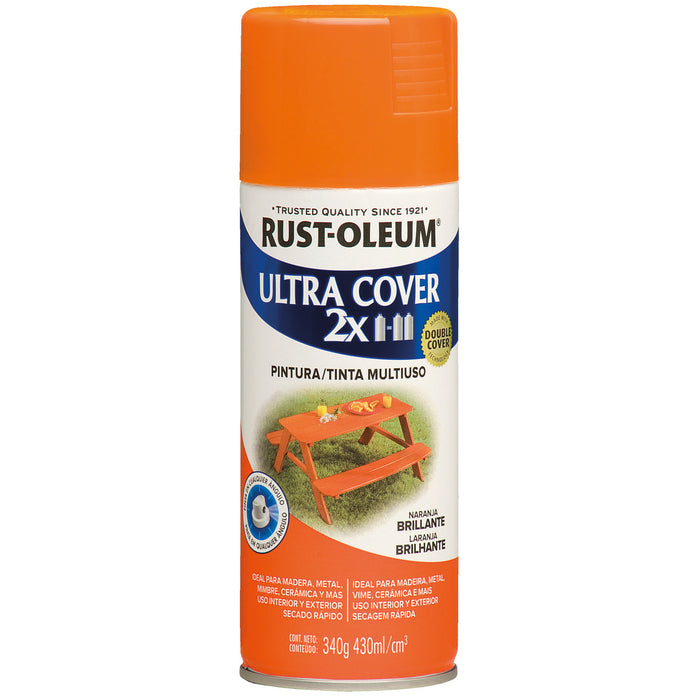 Pintura Aerosol Rust-Oleum Ultra Cover 2X Color Brillante