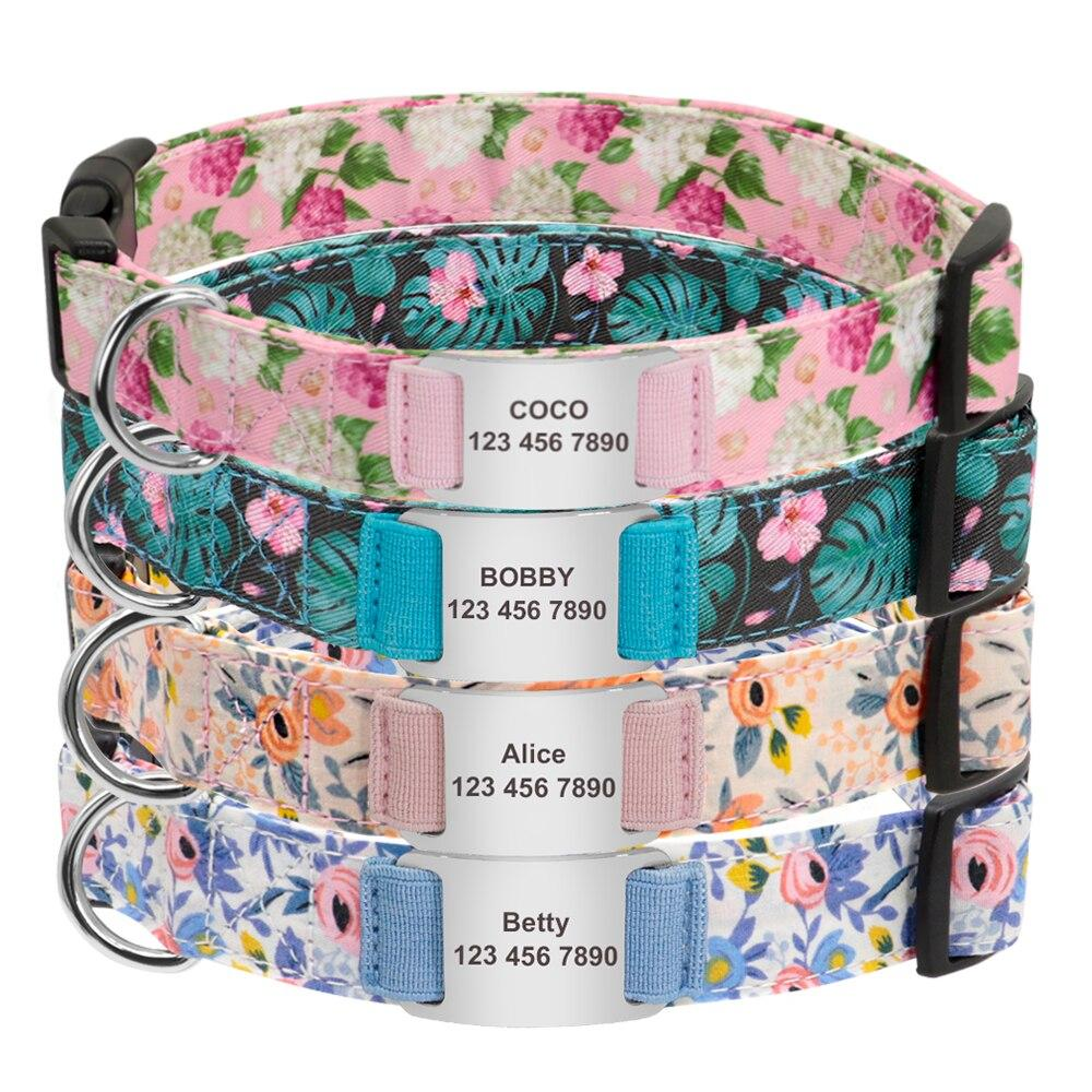 Bark And Blossom Girly Dog Collar - Shop & Dog