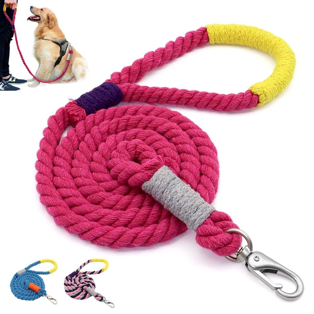 Braided Rope Leash For Medium To Large Breeds 1.6M/5 Feet - Shop & Dog