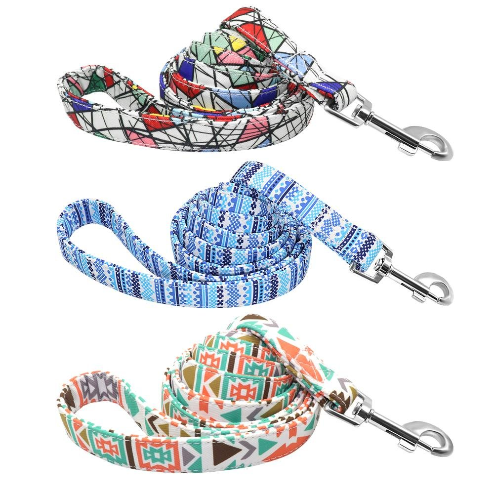 Mosaic Dog Leash, 150cm/5ft - Shop & Dog