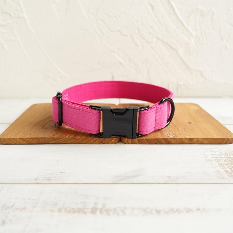 The Pink Personalised Dog Collar - Shop & Dog