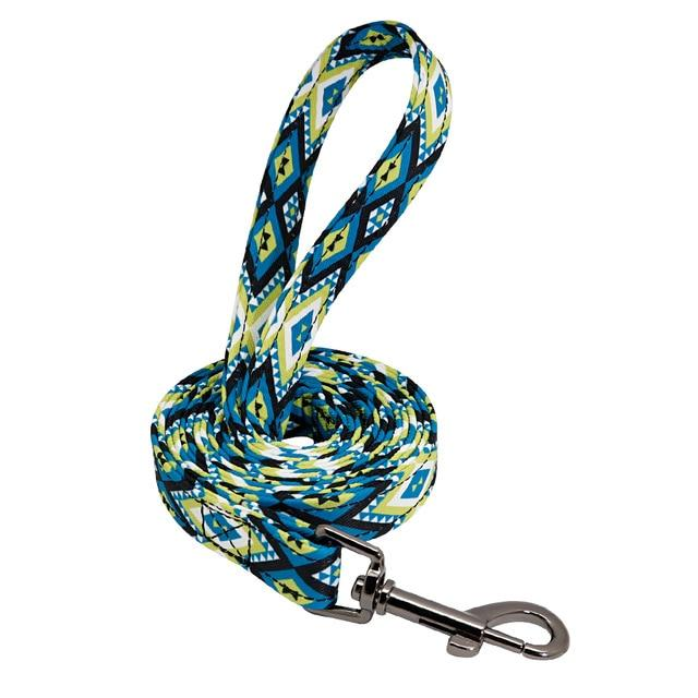 Tribal Print Dog Leash - Loja e Cachorro