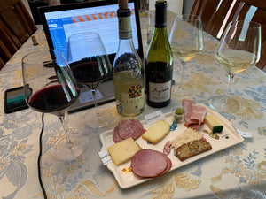 Virtual Cheese and Wine Tasting featuring Charcuterie