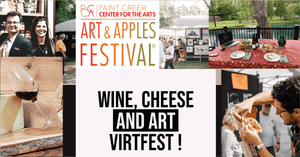 9-12 Virtual Wine and Cheese Tasting Art Festival!!