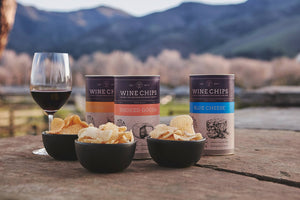 Virtual Cheese and Wine Tasting featuring Cheese Chips !