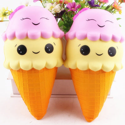 Squishy Ice Cream Stress Absorber Soft Toy - GenZenTech