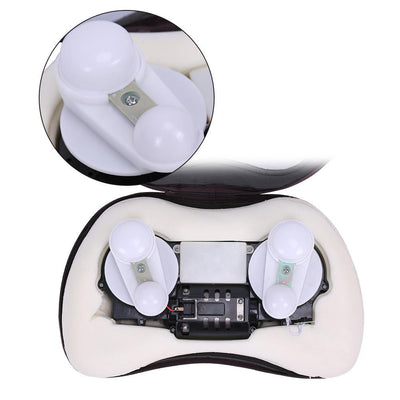 Heated Back Massage Pillow - GenZenTech