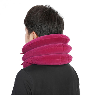 Inflatable Neck U-shaped Massager Pillow - GenZenTech