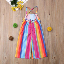 Load image into Gallery viewer, Rainbow Romper