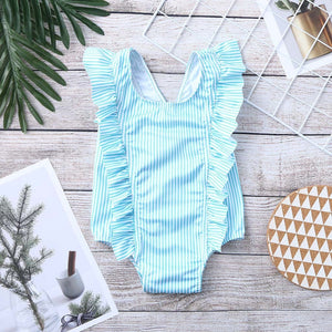 KLV Ruffle Swimsuit