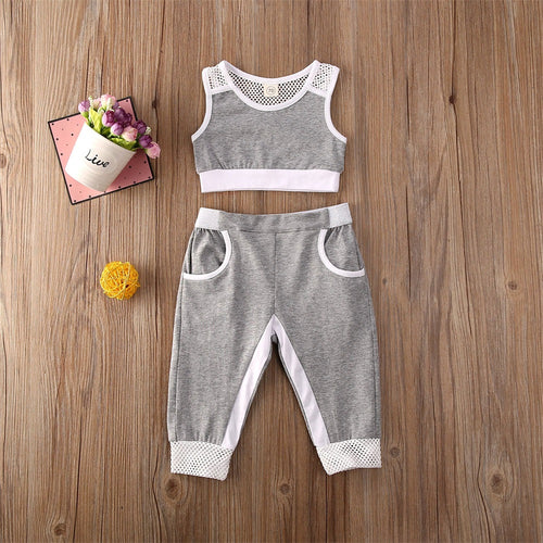 Tank Top Tracksuit Set