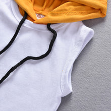 Load image into Gallery viewer, Sleeveless Hoodie Set