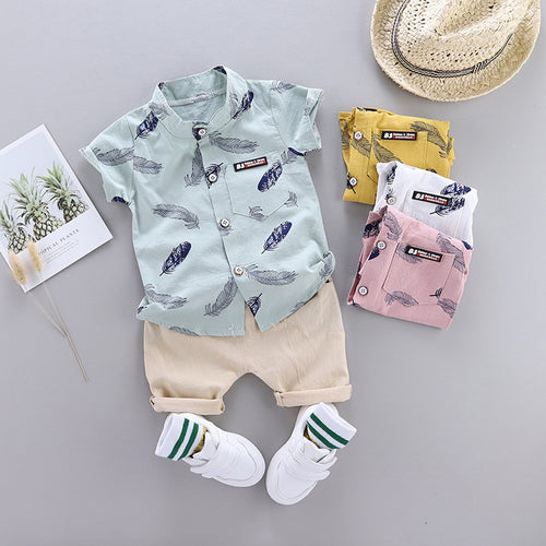 Summer Shorts Set