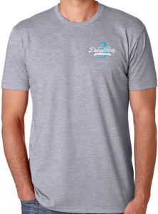 Mens Short Sleeve Grey T-Shirt