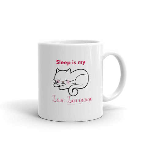 Sleep Is My Love Language Mug