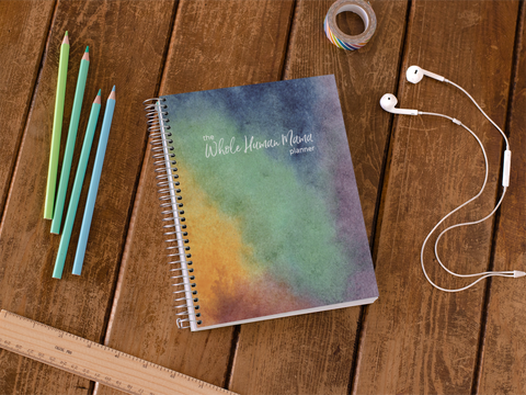 Year-long Whole Human Mama Planner
