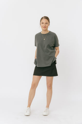 Pirate black oversized t-shirt