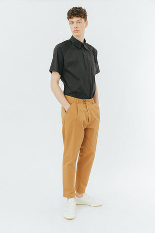 Brown baggy pants