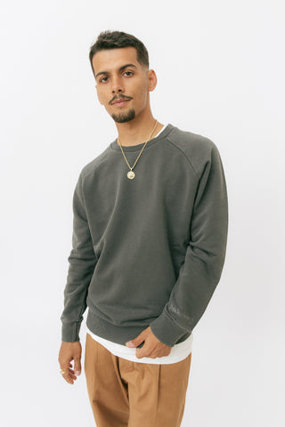 Pirate black raglan sweatshirt
