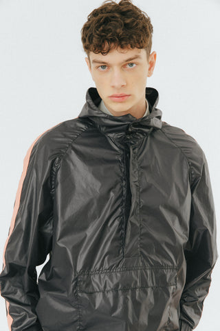 Black windrunner jacket