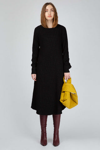 Black longsleeve dress