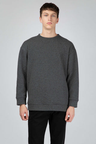 Grey wool jumper