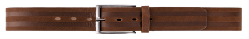 Men's Leather Belt in Brown-RZ2026