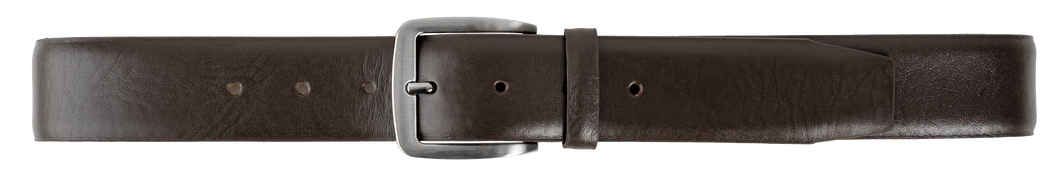Men's Leather Belt in Black-RZ2053