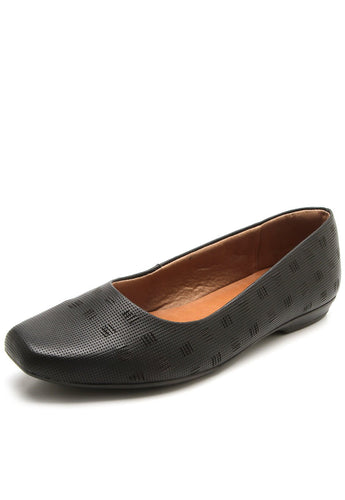 Galapagos Texture Casual Flats in BLACK - AA1503