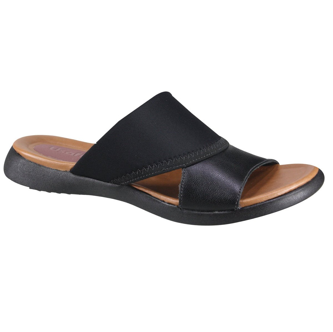 Lycra/Neoprene Sandal in Black - AA2407