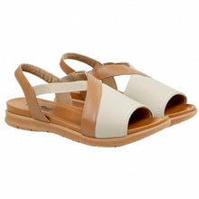 Load image into Gallery viewer, Lycra/Neoprene Bunion Sandal in Beige - AA3008
