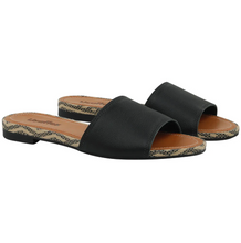 Load image into Gallery viewer, Napa Travel Sandal in Black - AA5509