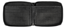 Load image into Gallery viewer, Leather Wallet in Black-C001