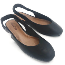 Load image into Gallery viewer, Napa Comfy Sole Slingback Black - AC2210