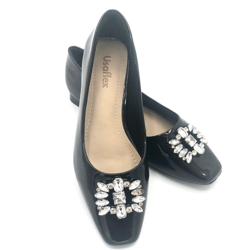 Casual Luxor Flat in Black Only - Y8008