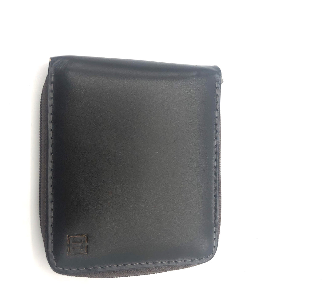 Leather Wallet in Coffee-C001