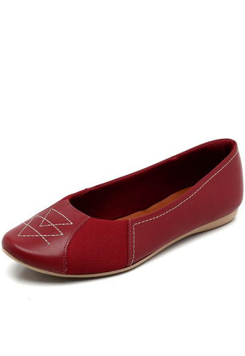 Aramado Casual Flat Bunion Red - T7511