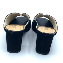 Load image into Gallery viewer, Leather Clog in Black - 400803