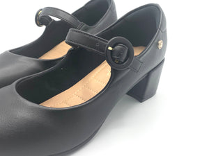 Low block Heels in Black - 1274-009